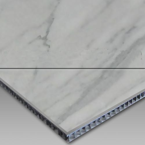 Carrara-Aluminum Honeycomb Laminated Panel