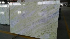 Cheap green marble onyx big slab